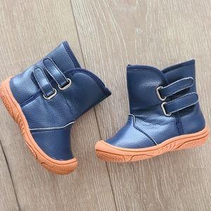 (3/$15) Matt Keely Blue/Orange Booties